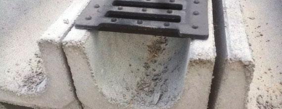 Бетонные каналы для отвода воды